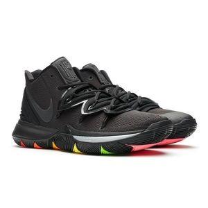 Nike Kyrie 5 Rainbow Soles AO2918-001 Mens 10.5